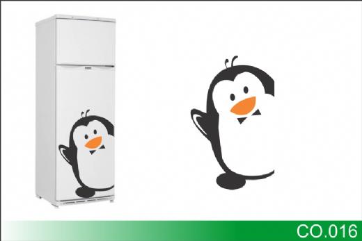 Foto destaque - Adesivo Decorativo 16 – Pinguim baixinho