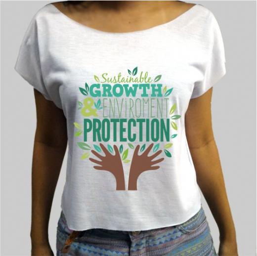 Foto destaque - Camiseta Ecologia 2