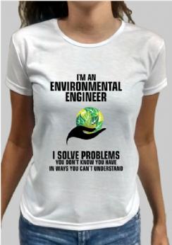 Foto 1 - Camiseta Engenharia Ambiental 1