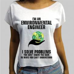 Foto 2 - Camiseta Engenharia Ambiental 1