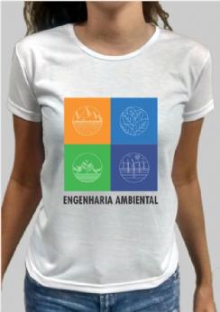 Foto 1 - Camiseta Engenharia Ambiental 4