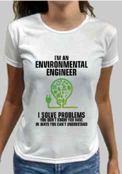 Foto 1 - Camiseta Engenharia Ambiental 8