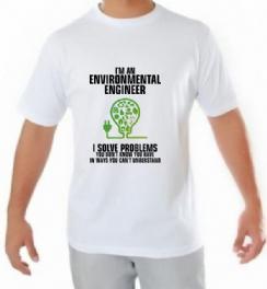 Foto 2 - Camiseta Engenharia Ambiental 8