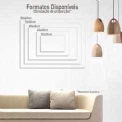 Foto 3 - Fototela Canvas Retangular - 40x30cm (h/v)